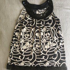 Black and white tunic
